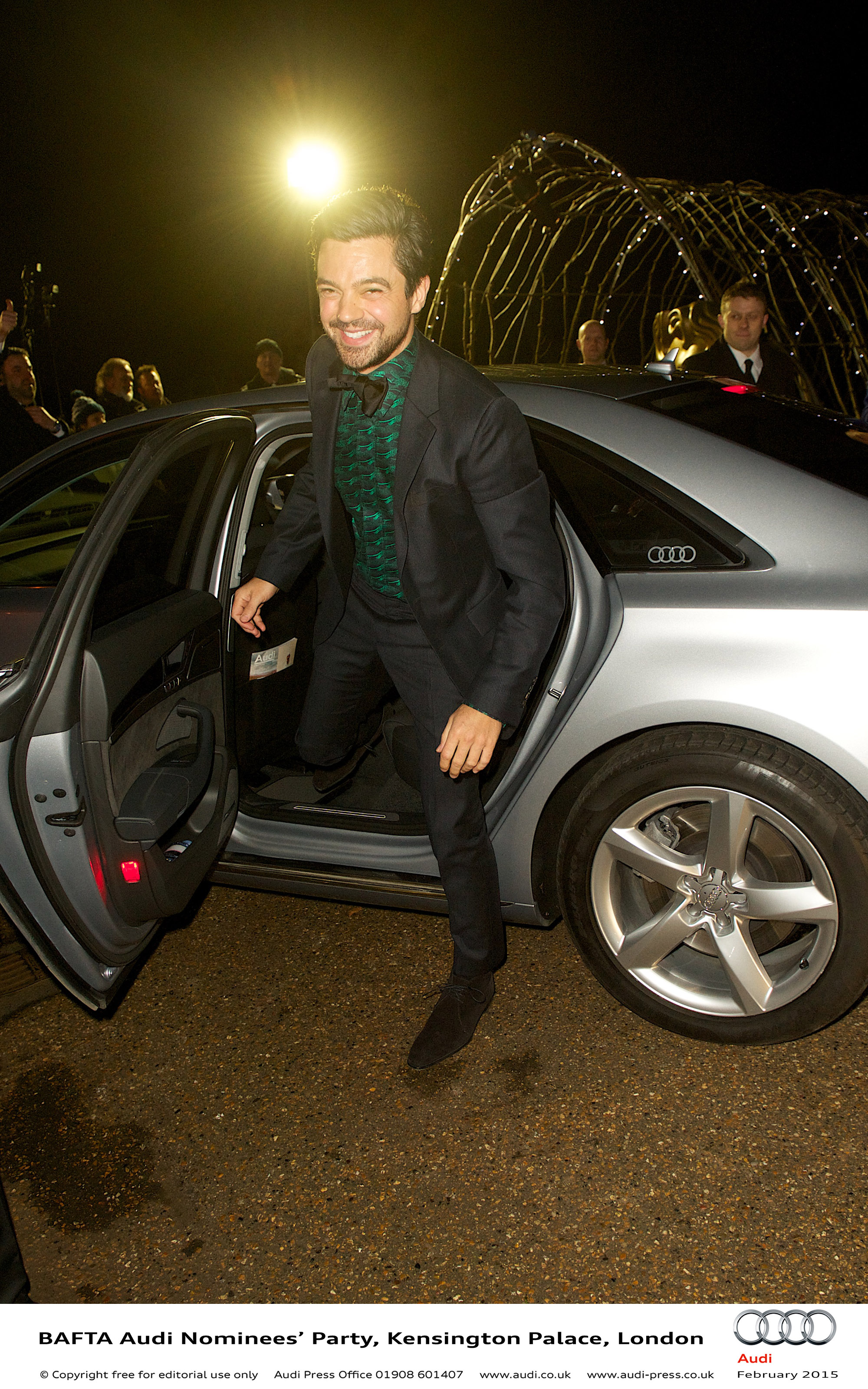 Dominic Cooper - BAFTA Audi Nominees Party