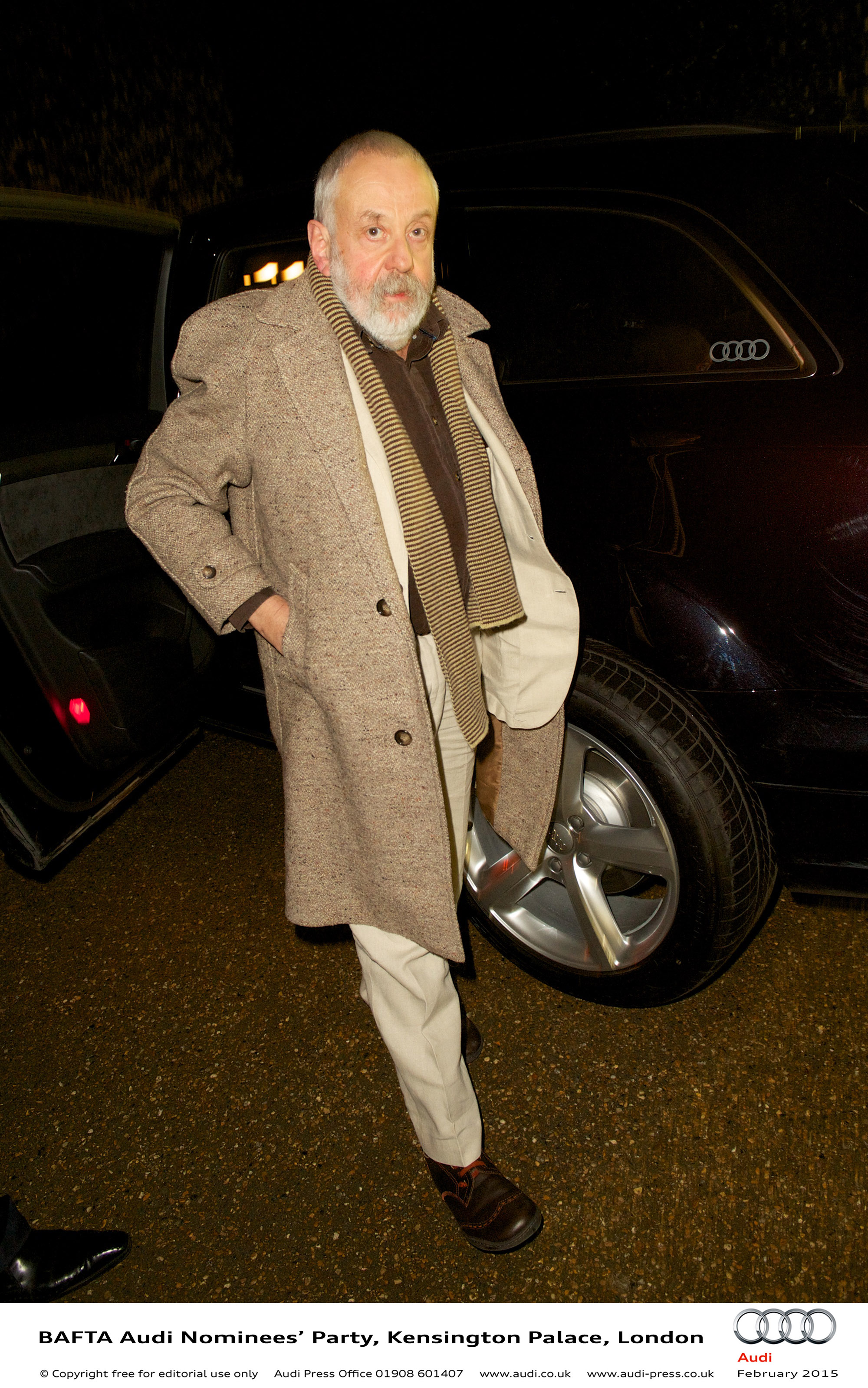 Mike Leigh - BAFTA Audi Nominees Party