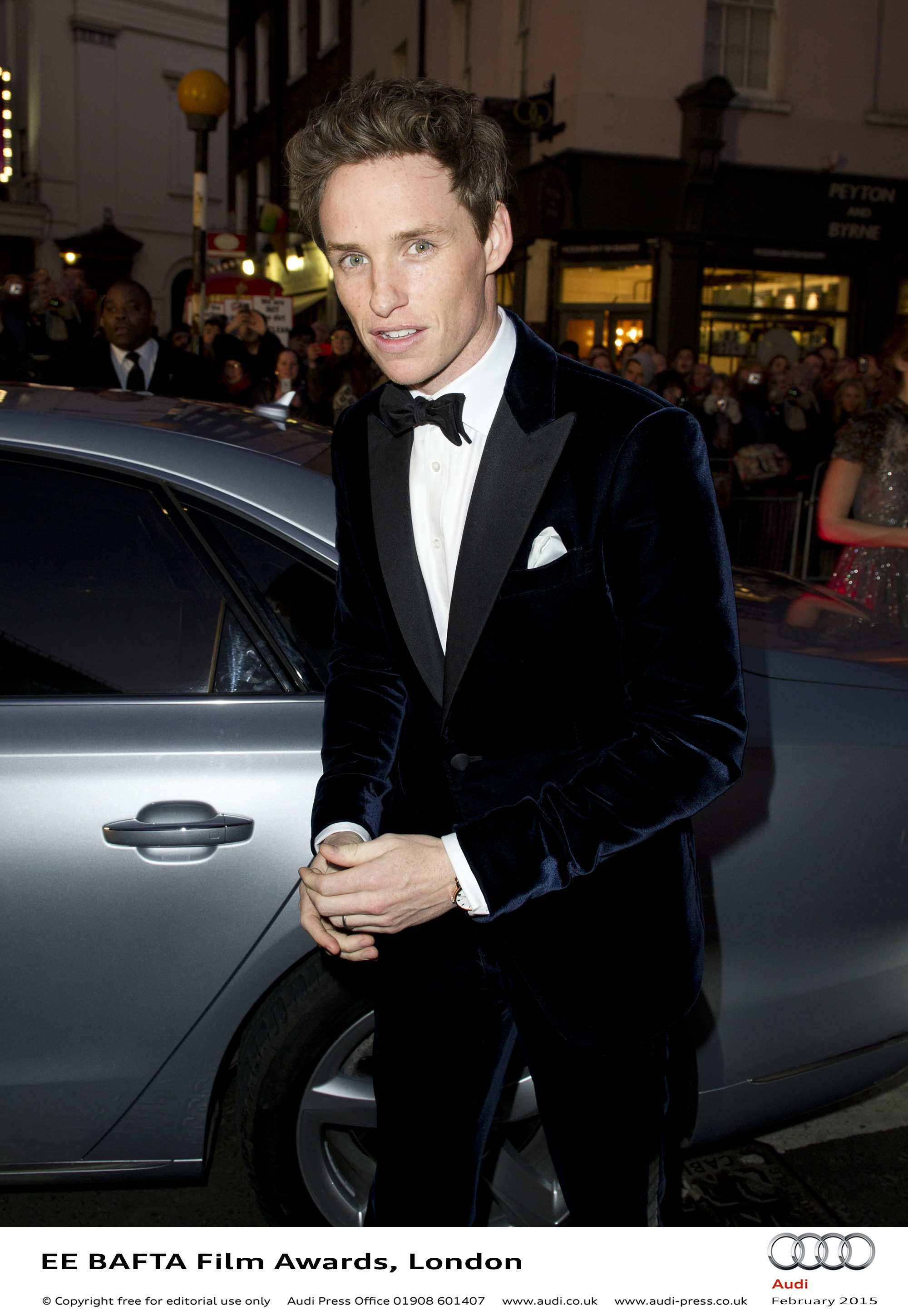 Eddie Redmayne - EE BAFTA Film Awards