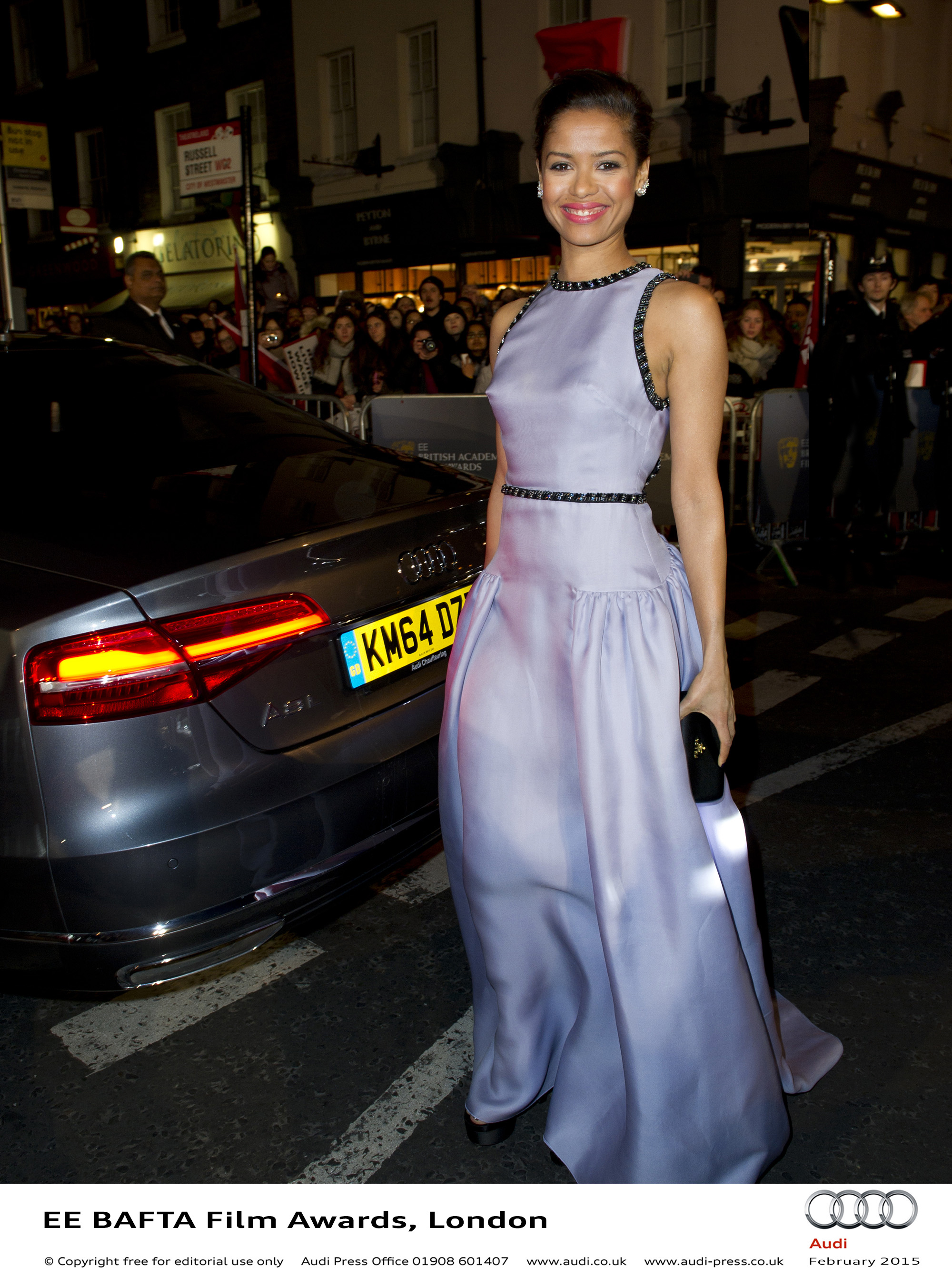 Gugu Mbatha-Raw - EE BAFTA Film Awards
