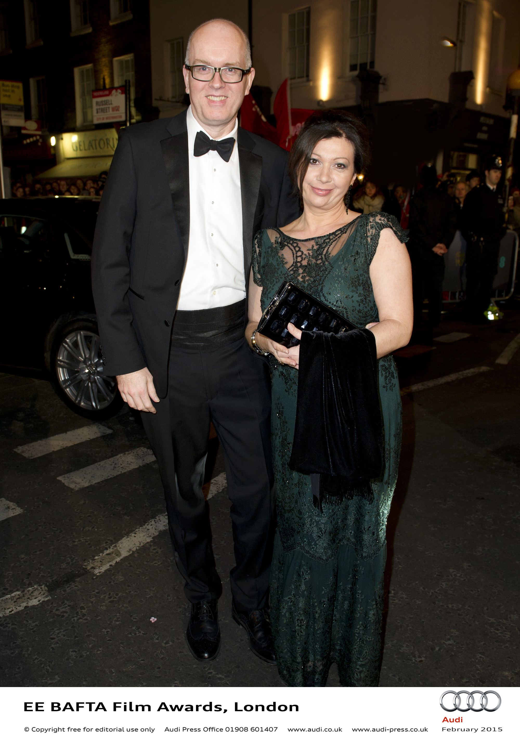 Nick and Sherin Ratcliffe - EE BAFTA Film Awards