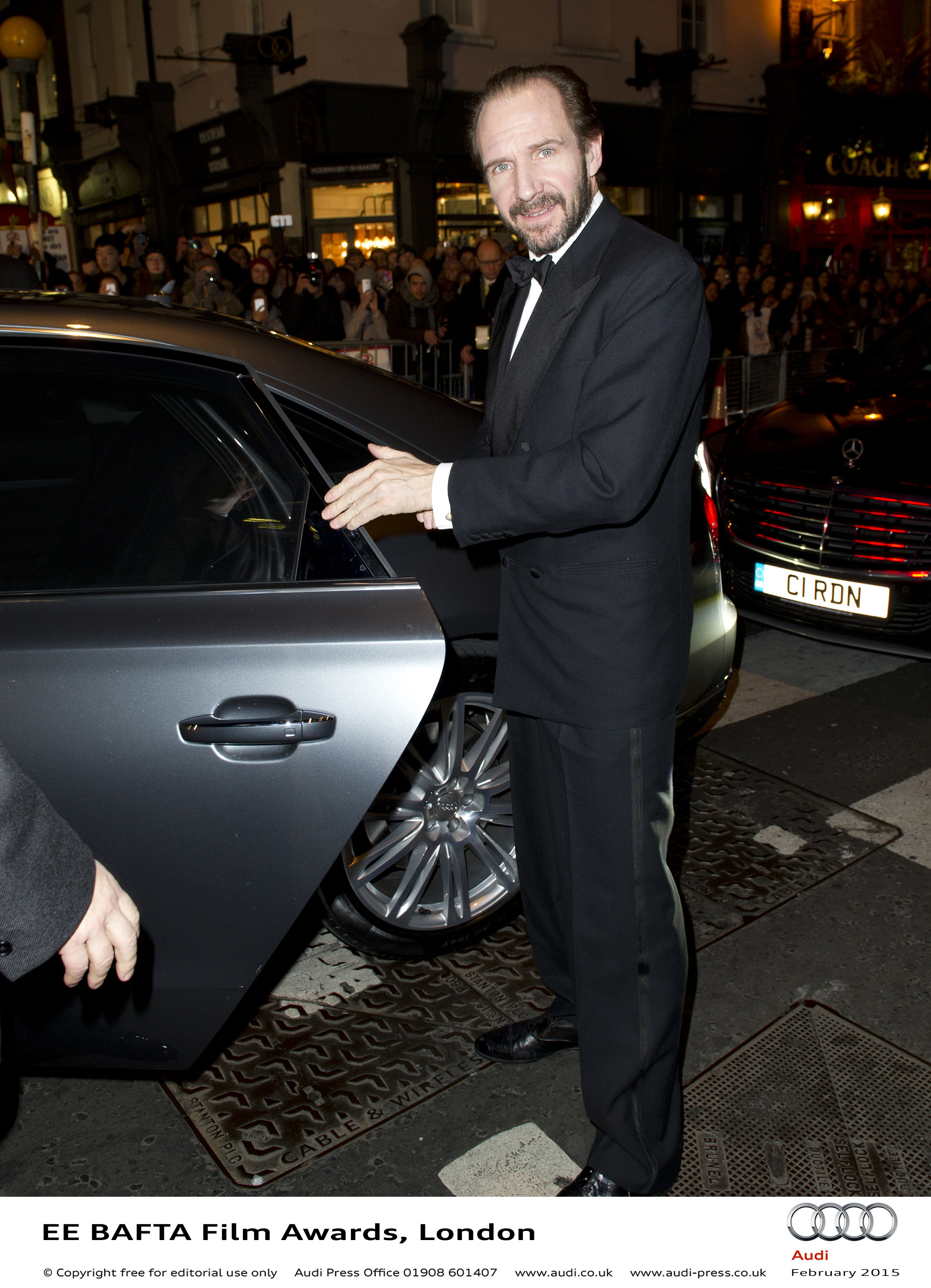 Ralph Fiennes - EE BAFTA Film Awards