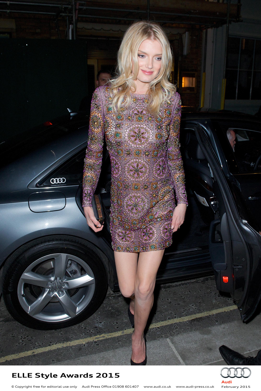 Lily Donaldson - Elle Style Awards
