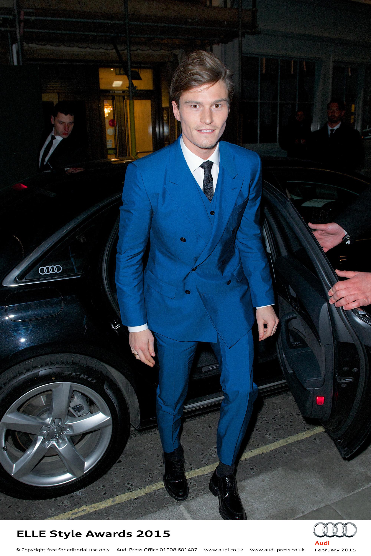 Oliver Cheshire - Elle Style Awards