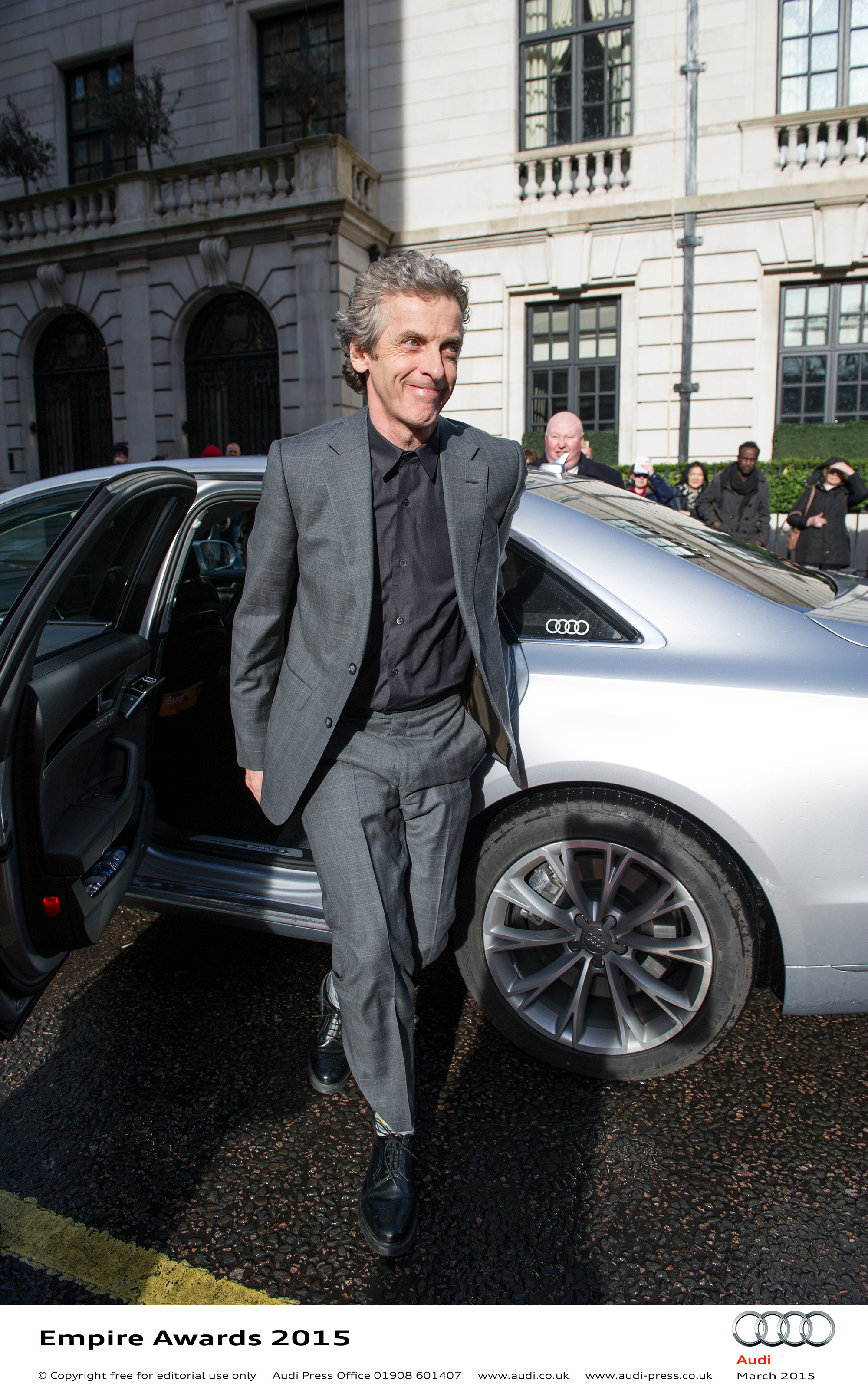Peter Capaldi - Empire Awards