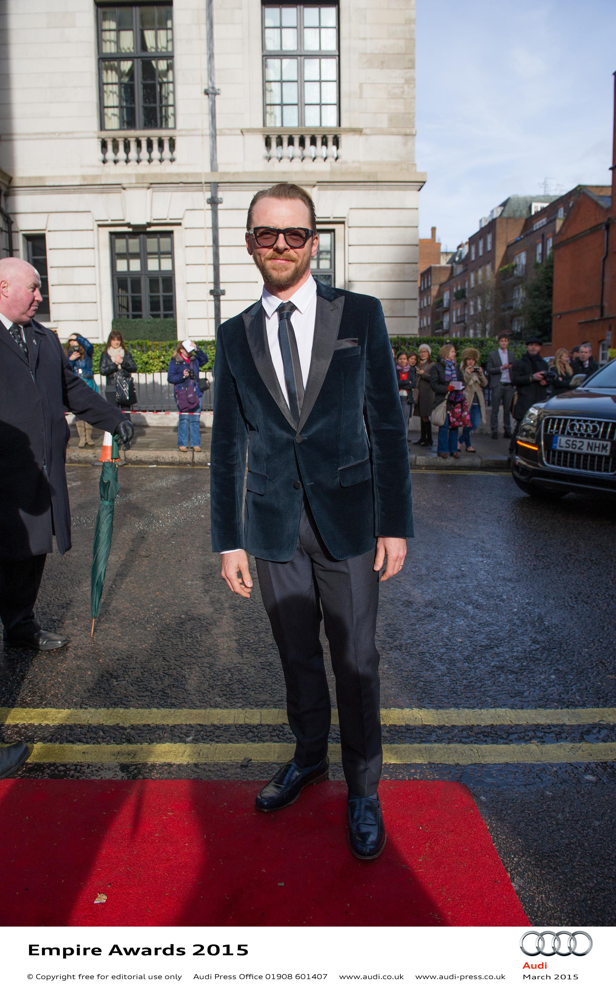 Simon Pegg - Empire Awards