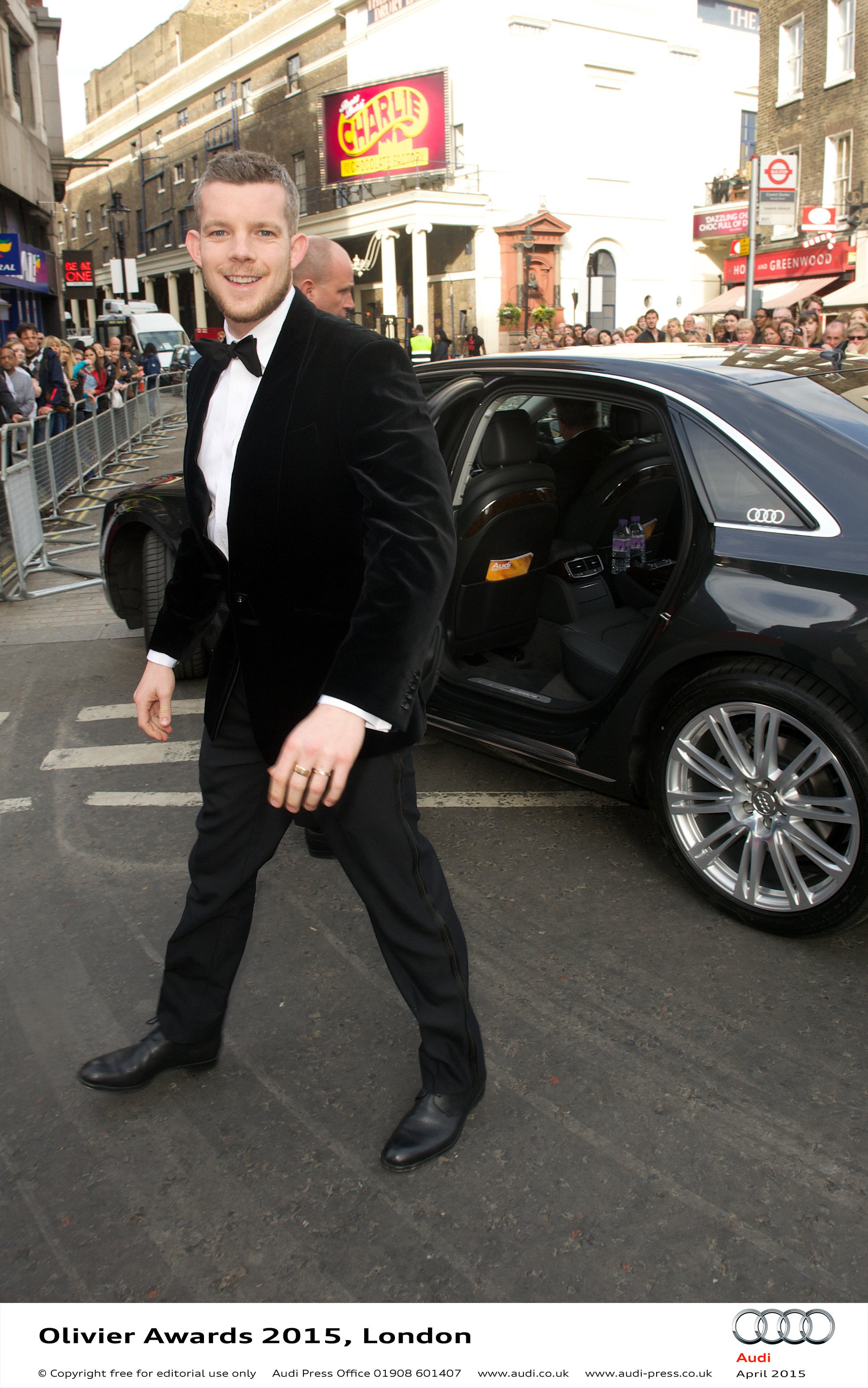 Russell Tovey - Olivier Awards
