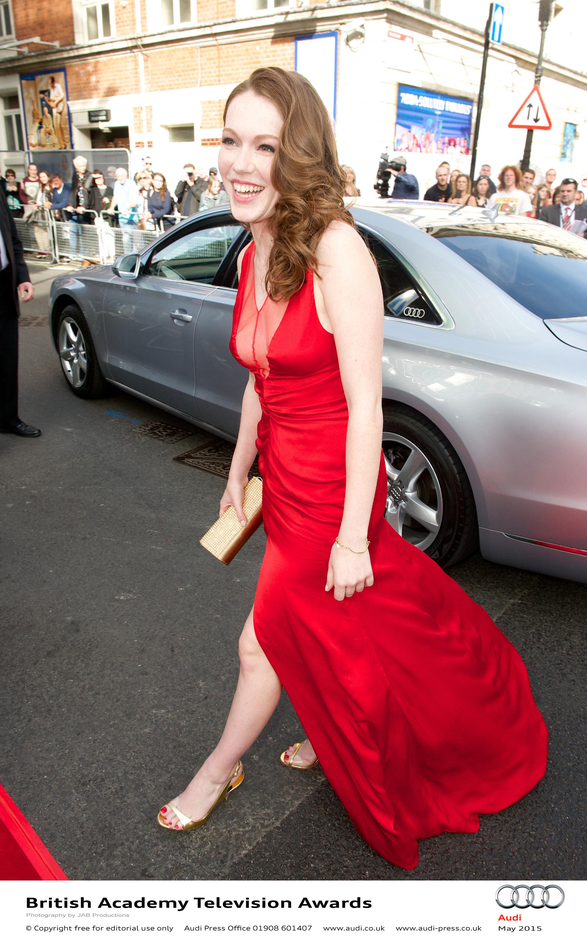 Charlotte Spencer - BAFTA TV Awards