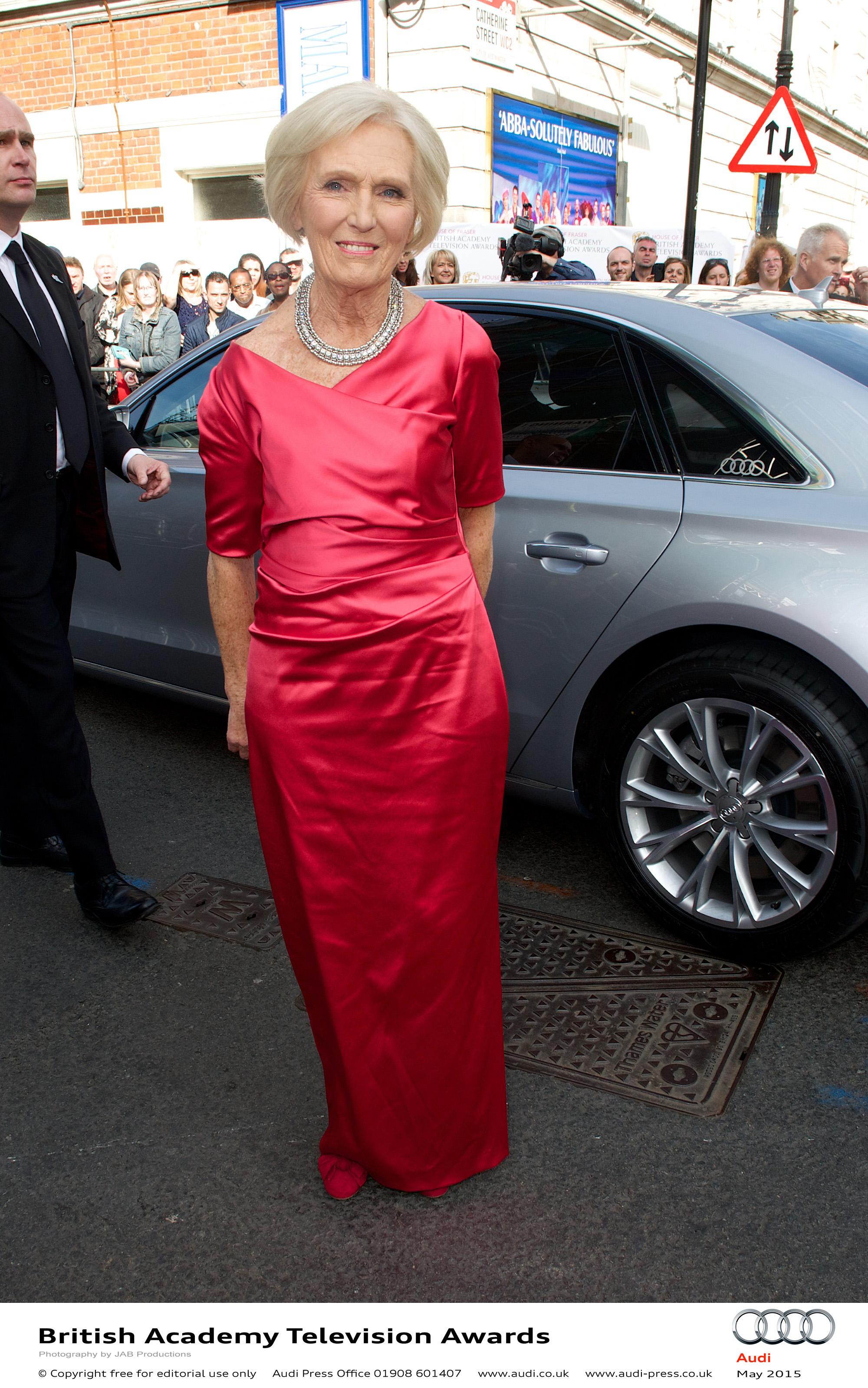 Mary Berry - BAFTA TV Awards