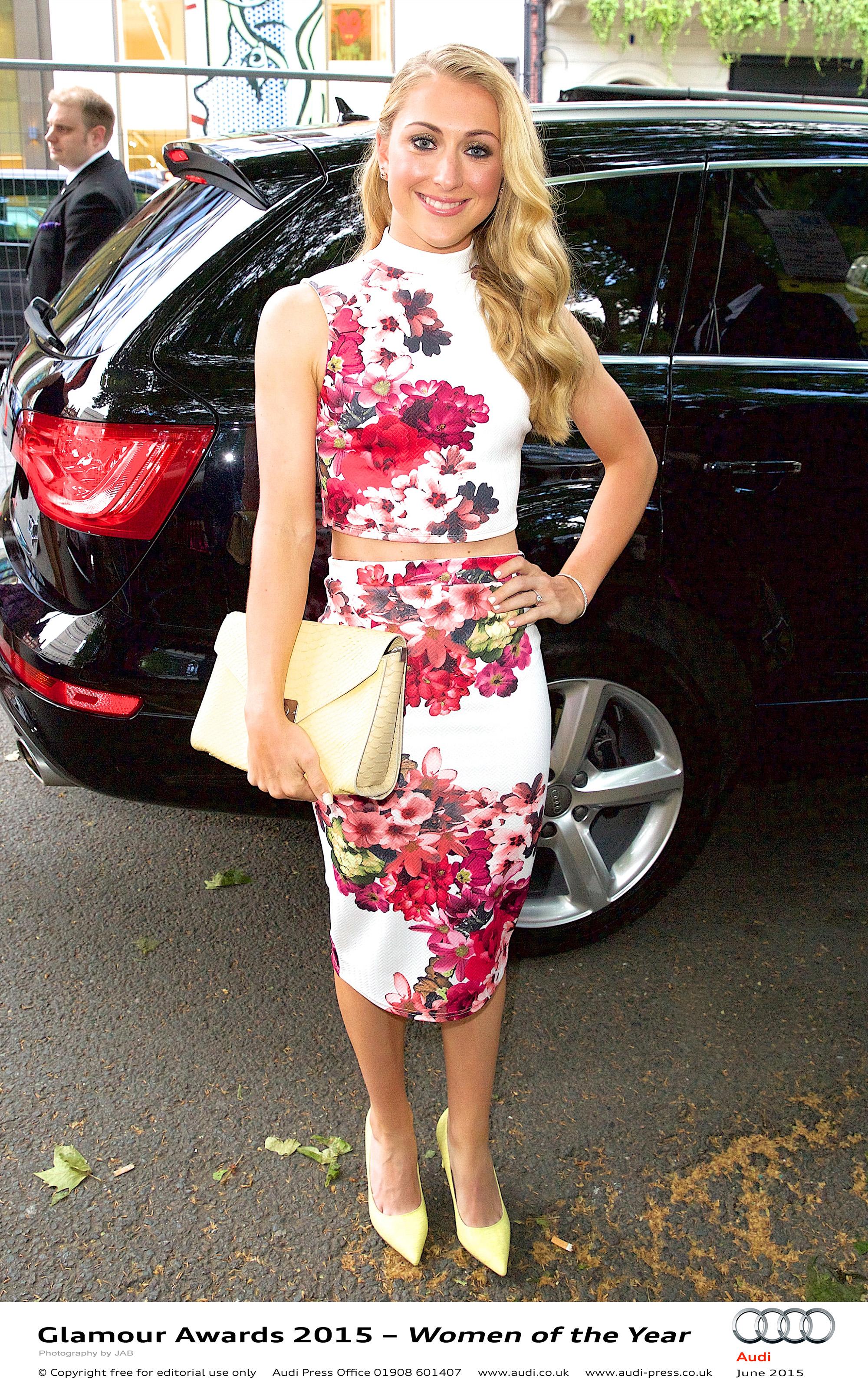 Laura Trott - Glamour Awards